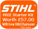 Stihl chain saws for sale Ireland