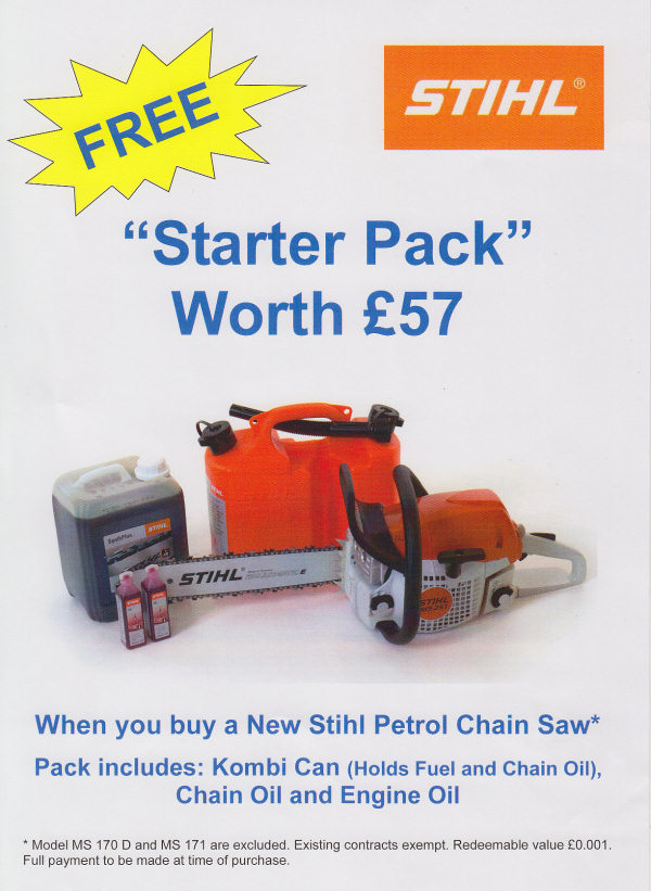 Stihl chain saw promotion and sale now on - Irish Mowers